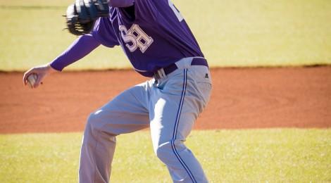SHC Badger Baseball - 1st Pitch of 2014 Season